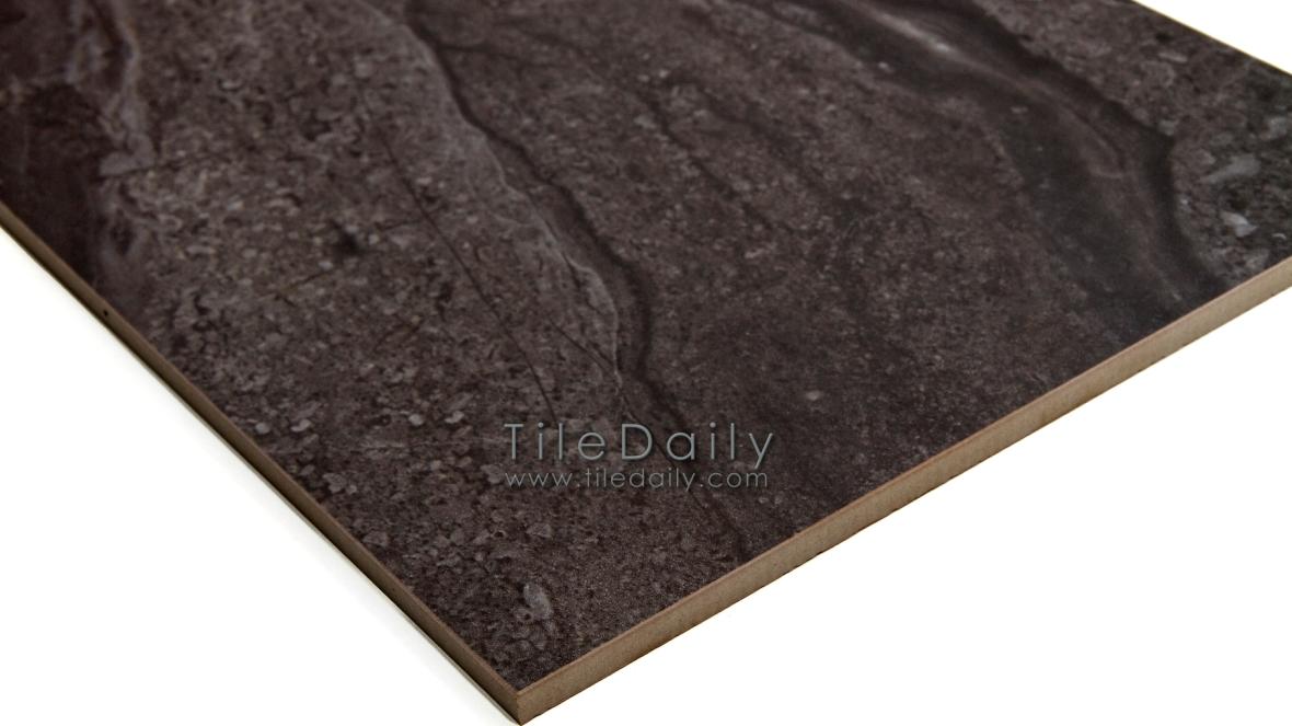Black Sandstone Porcelain Tile