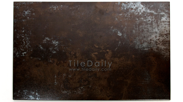 MP0038BZ - Antracita Metallic Porcelain Tile, Bronze