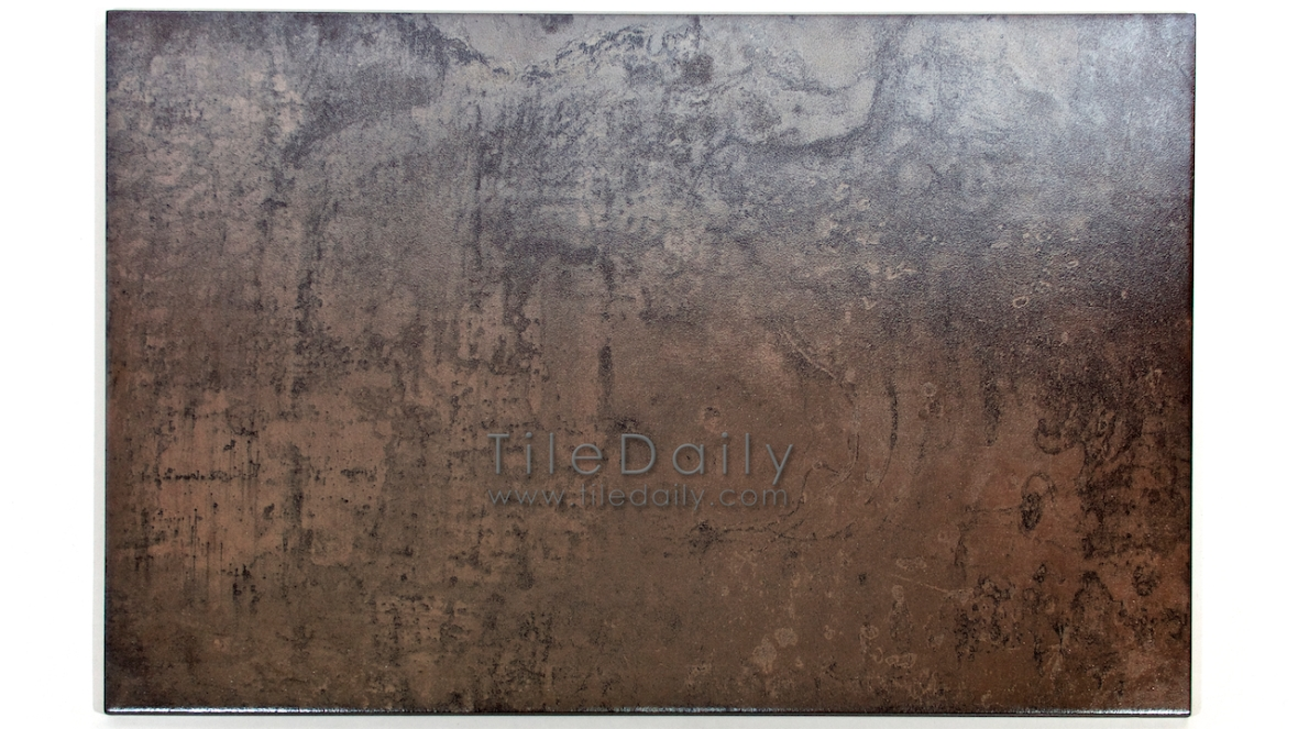 MP0038BS - Antracita Metallic Porcelain Tile, Brass