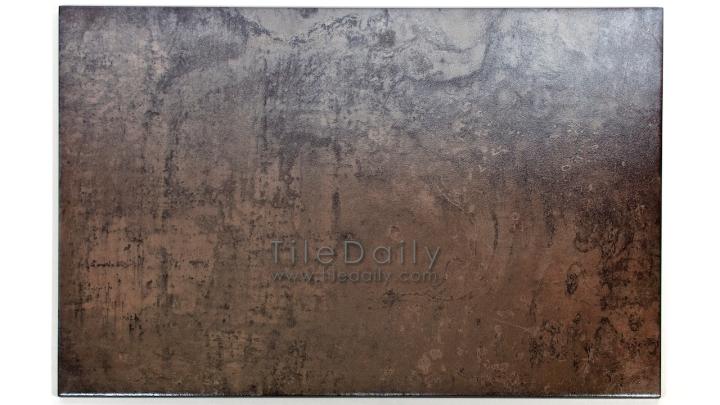 MP0038BS - Antracita Metallic Porcelain Tile, Brass
