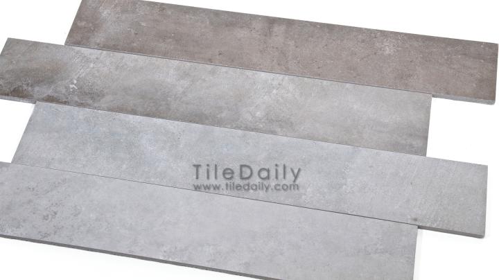 Cement Series Porcelain Plank, 4Colors