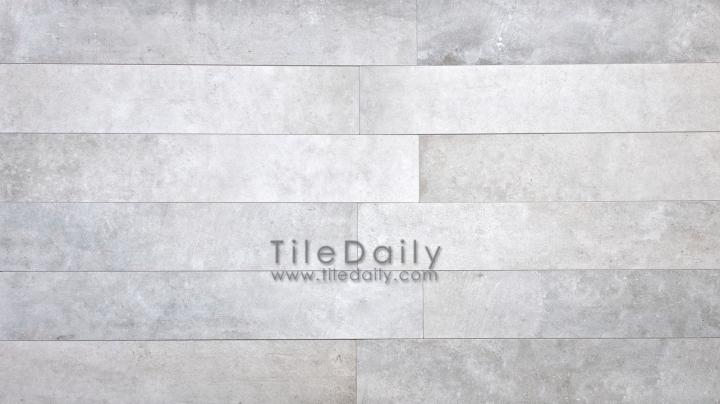 P0059LGY - 4x12 Cement Porcelain Plank, Ash
