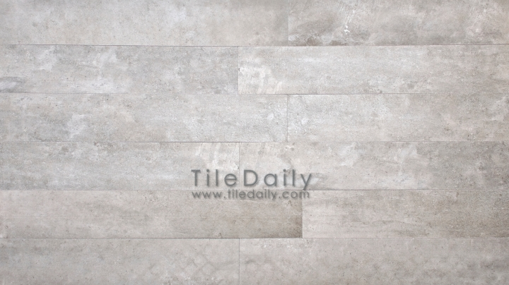 P0059GY - 4x12 Cement Porcelain Plank, Grey
