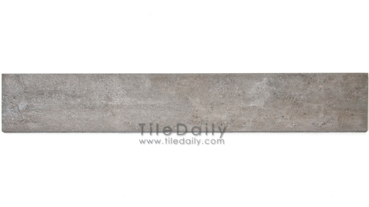 P0059GY - 4x12 Cement Porcelain Plank, Grey