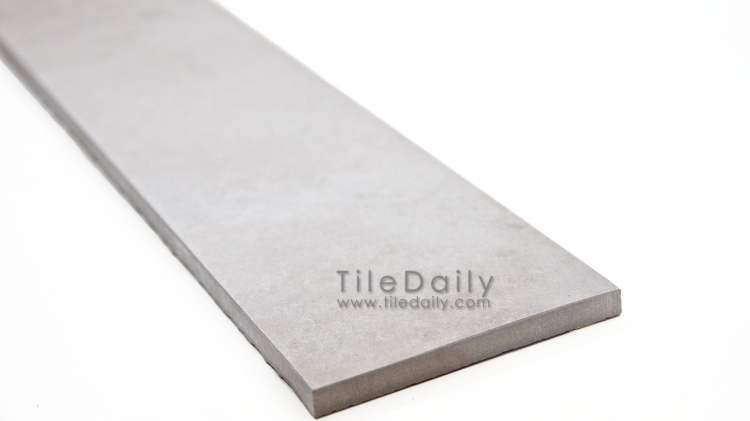 P0059LGY - 4x24 Cement Porcelain Plank, Cloud
