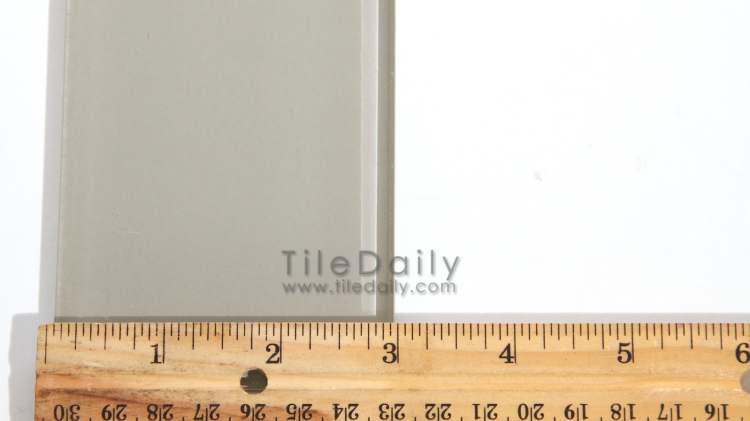 GM0087 - 3x12 Glass Subway Tile, 5 Colors. Taupe, Teal Green, Light Grey, Beige, White.