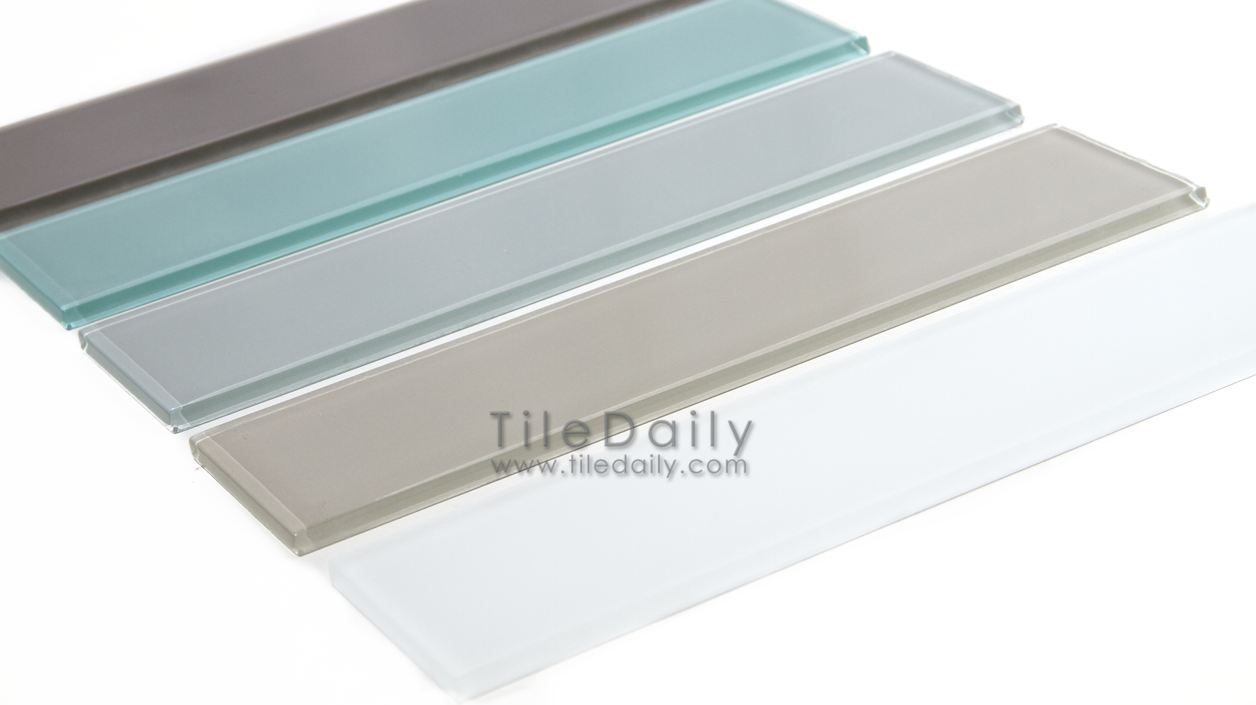 Slim Glass Subway Tile 5 Colors Tiledaily