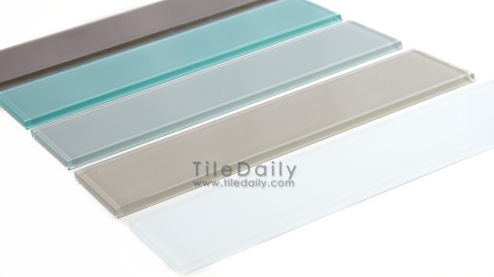 Slim Glass Subway Tile, 5Colors