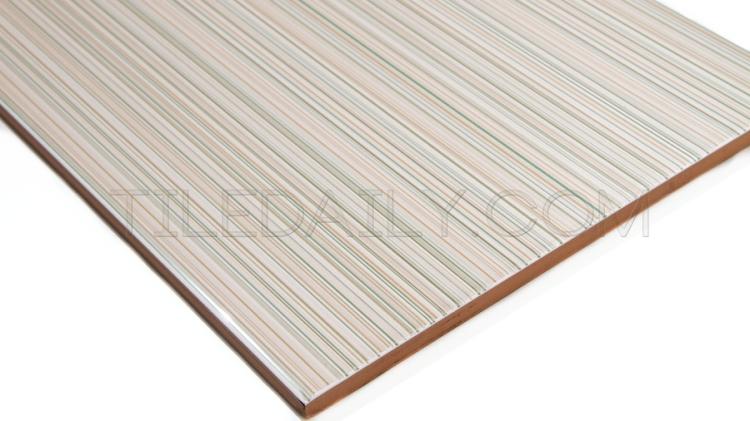 P0066BG - Gloss Lines Ceramic Tile, Beige