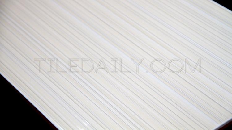 P0066LBG - Gloss Lines Ceramic Tile, Light Beige