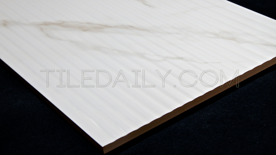 how to clean ceramic tile with grooves