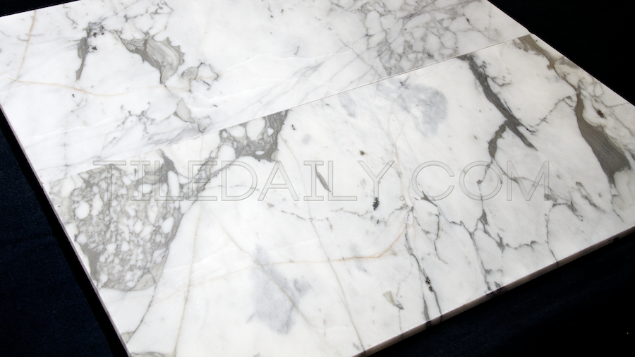 white carrara marble tile dramatic vein - White Carrara Marble