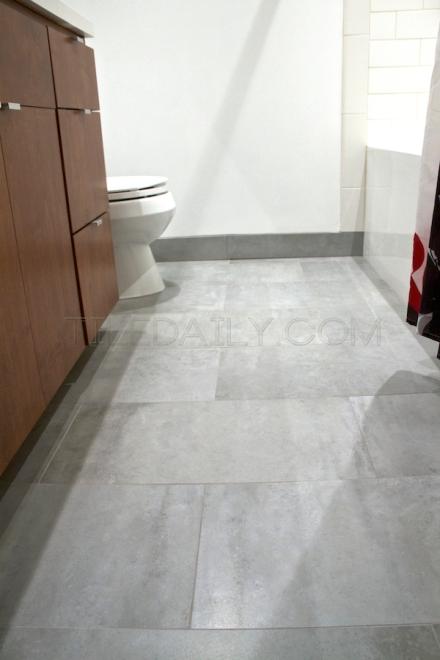 Matte tiledaily for Cement tile installation