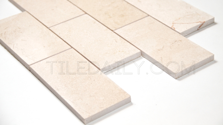 Crema Marfil Marble BrickMosaic
