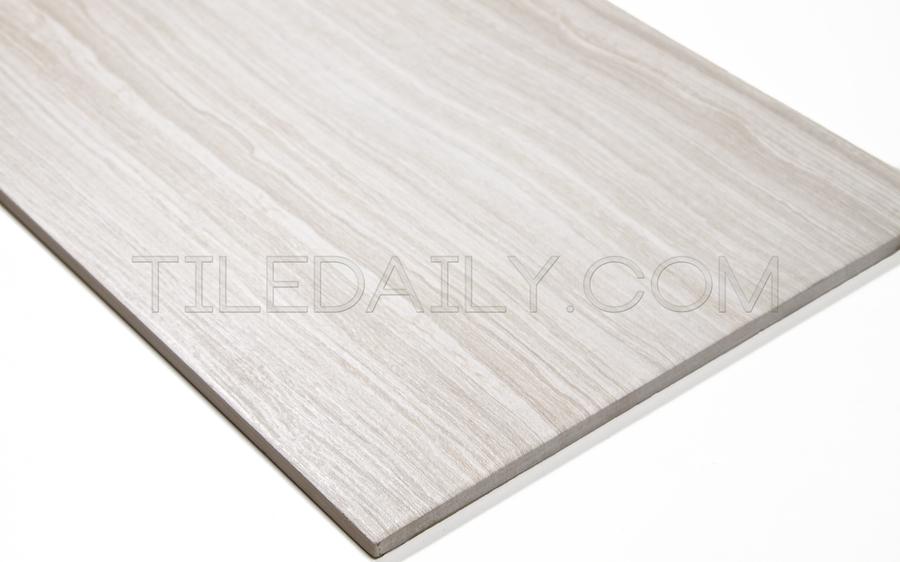P0071LBG - Vein Cut Series Porcelain Tile, Light Beige. 12x24