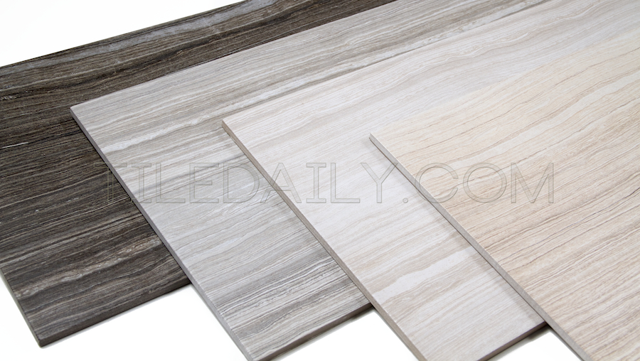 Vein Cut Series Porcelain Tile 4 Colors Tiledaily