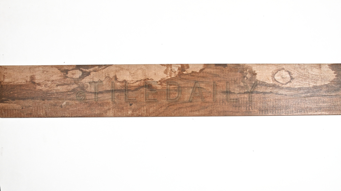 PW0019RD Driftwood Porcelain Plank Tile, Mahogany