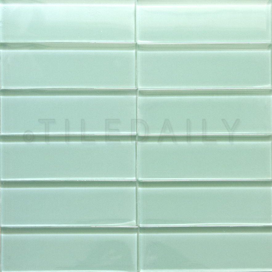 Glass Subway Tile Light Green Tiledaily Interiors Inside Ideas Interiors design about Everything [magnanprojects.com]