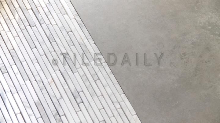 NS0061 Linear Random Strip Carrara Mosaic