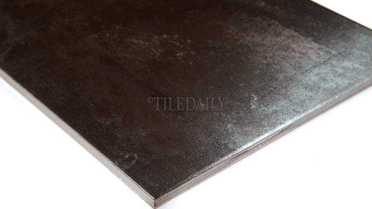 MP0039SR - 12x24 Ferro Metallic Porcelain Tile, Iron