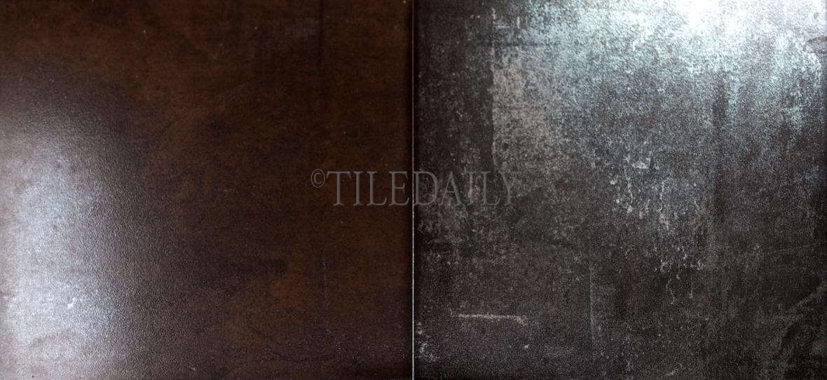 MP0039 - 12x24 Ferro Metallic Porcelain Tile, Iron and Bronze