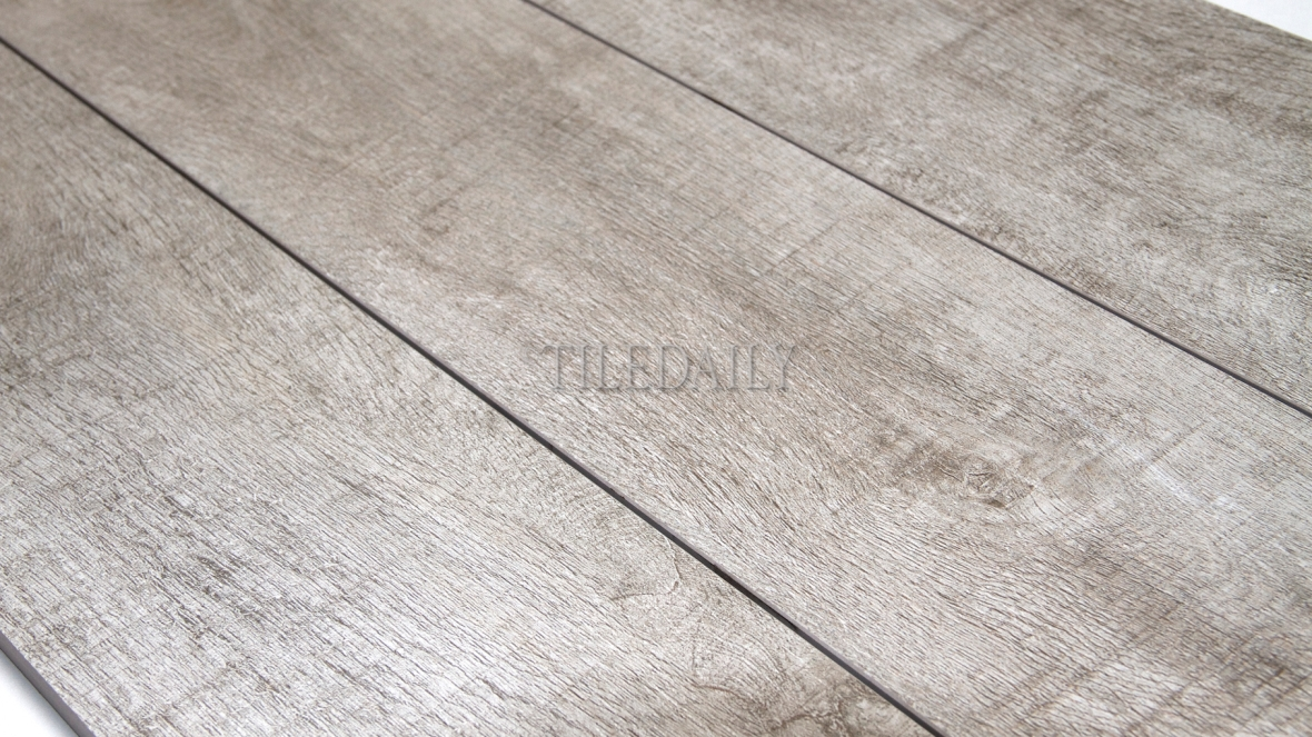 PW0022LGY Forest Wood Porcelain Plank, Light Grey