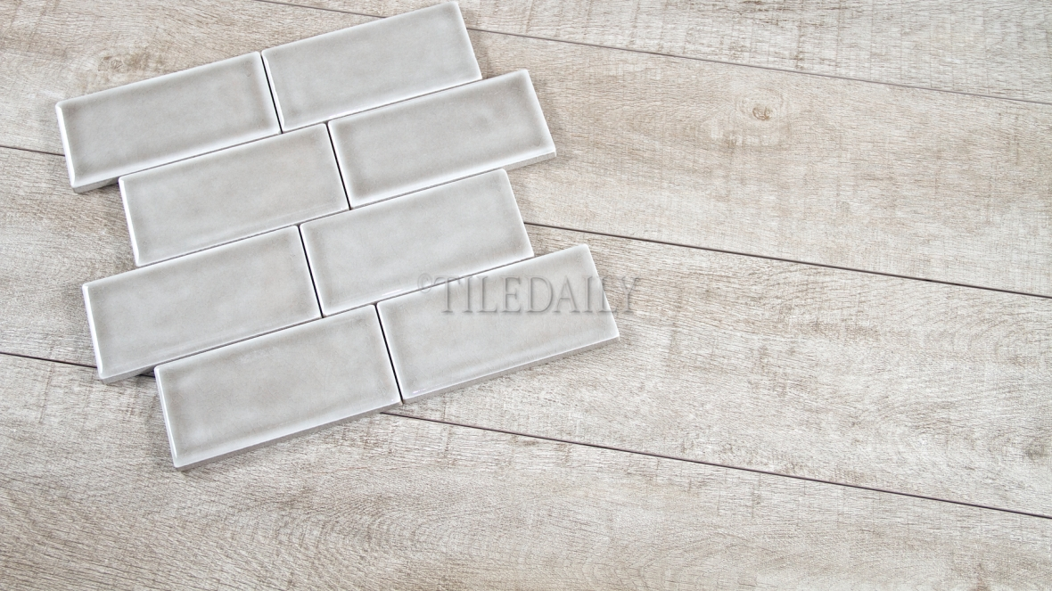 PW0022LGY - Forest Wood Porcelain Tile, Light Grey