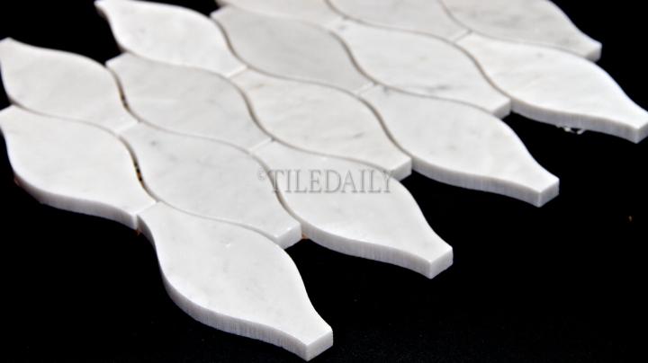 Vase Carrara MarbleMosaic