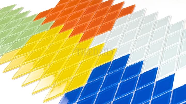 Diamond Glass Mosaic, 5Colors