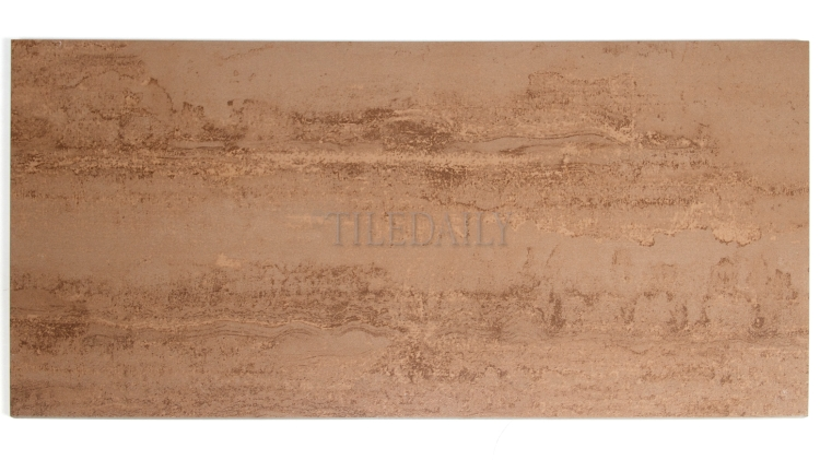P0078BN Metro Porcelain Tile, Brown
