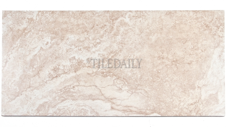 P0083LBG - 12x24 Classic Travertine Porcelain Tile, Cream