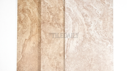 P0083 - 12x24 Classic Travertine Porcelain Tile, 3 Colors Cream, Beige and Brown
