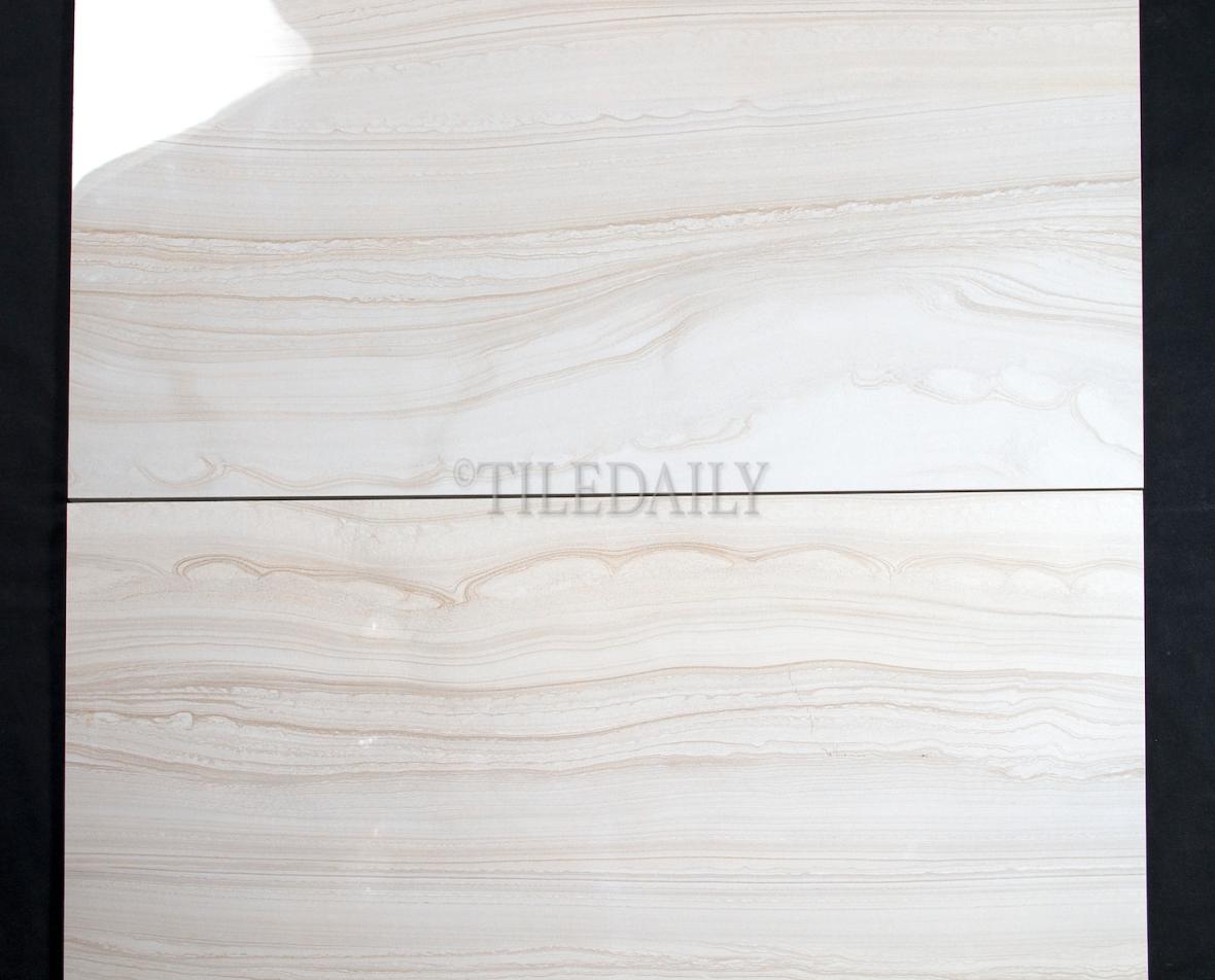 Vein cut polished porcelain tile tiledaily for 12x24 porcelain floor tile
