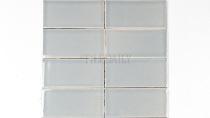 P0034IB - 3x6 Ceramic Subway Tile, Ice Blue