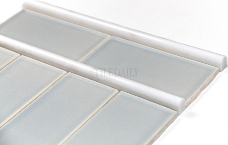 P0034IB - 3x6 Ceramic Subway Tile, Ice Blue