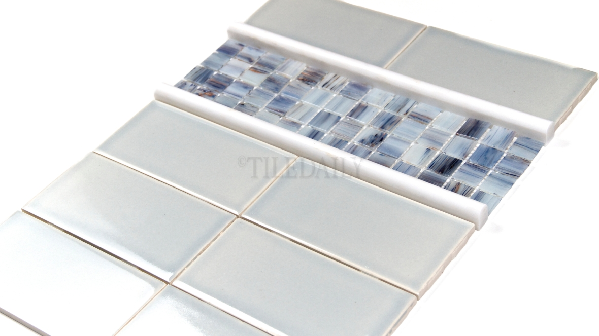 Ceramic Subway Tile Ice Blue Tiledaily