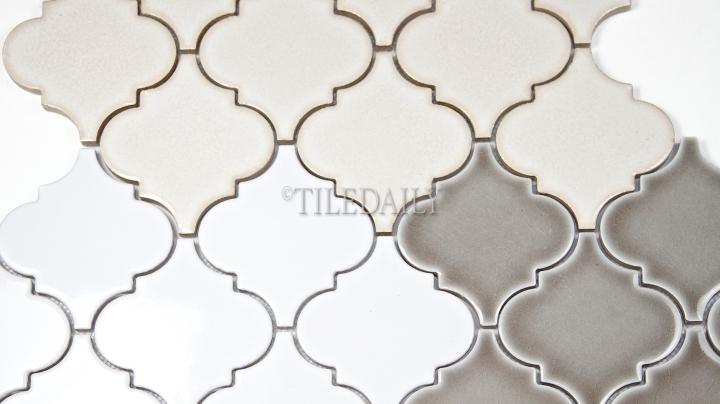PM007 - Lantern Series Porcelain Mosaic, 3 Colors