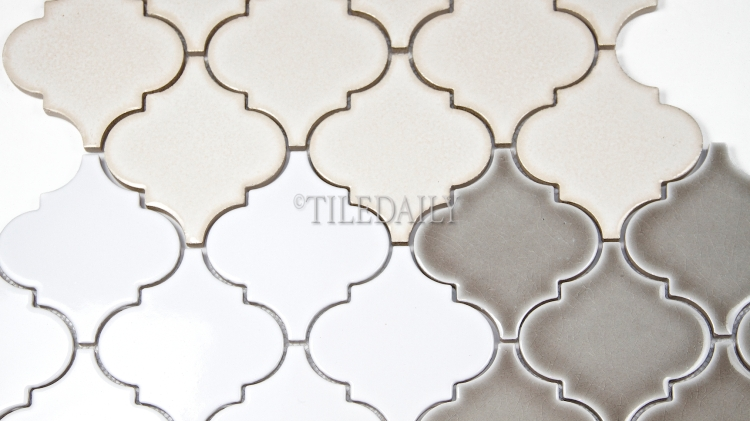 PM007 - Lantern Series Porcelain Mosaic, 3 Colors