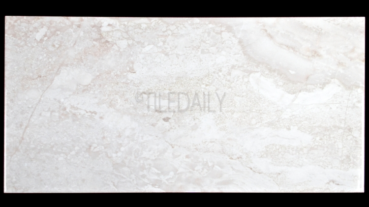 P0085LGY - Marble Series Ceramic Tile, Light Grey 12x24, 18x18