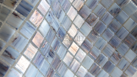 GM0119BE - Shimmer Blue Glass Mosaic - SALE