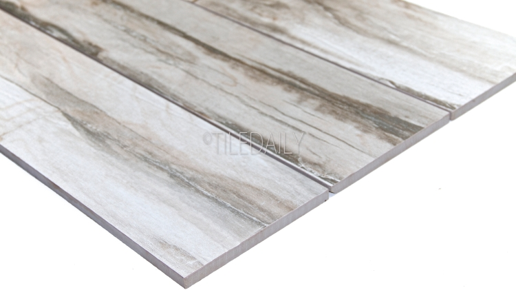 PW0023 -  6x36 Cottage Wood Porcelain Tile, Grey