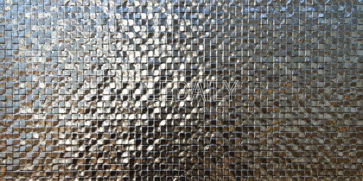 Metallic Square Drop Texture Tile
