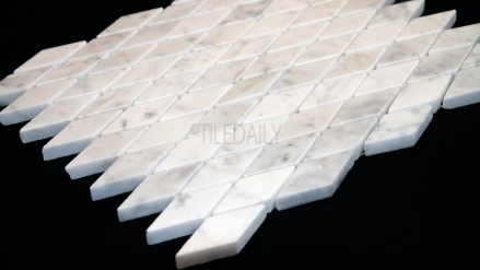NS0074 - Carrara Diamond Marble Mosaic