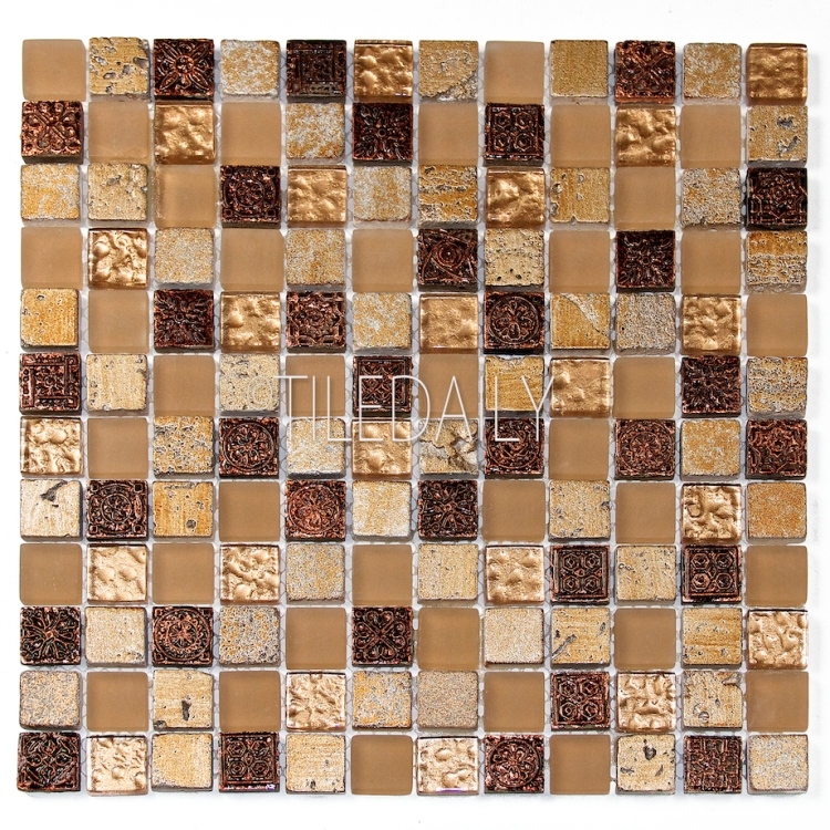 GM0130GD - Century Glass Mosaic, Gold