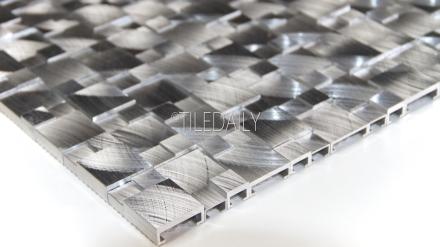 SS0007 - Splitface Stainless Steel Mosaic