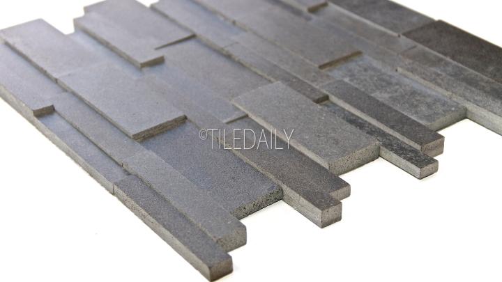 NS0076 - Split Face Basalt Stone Mosaic