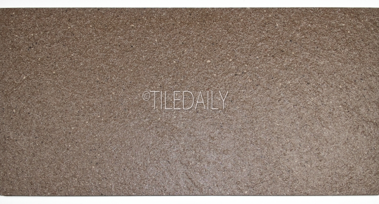 P0087BN - Sand Texture Porcelain Tile, Brown