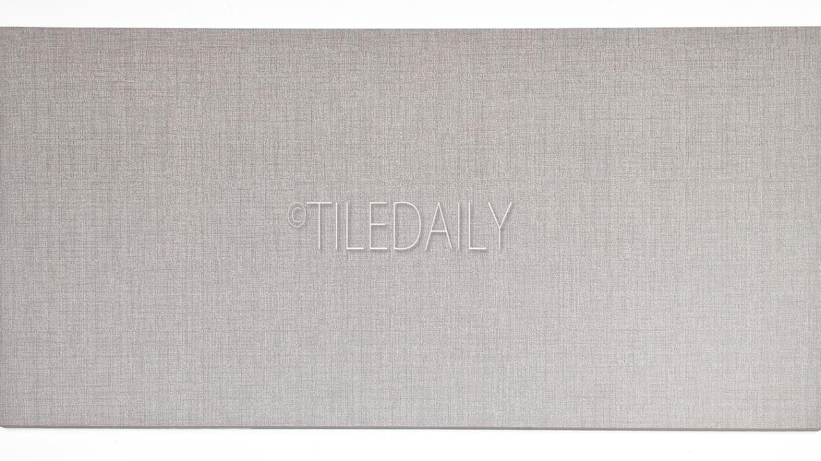 P0015LGY-2  - Linen Porcelain Tile, Light Grey