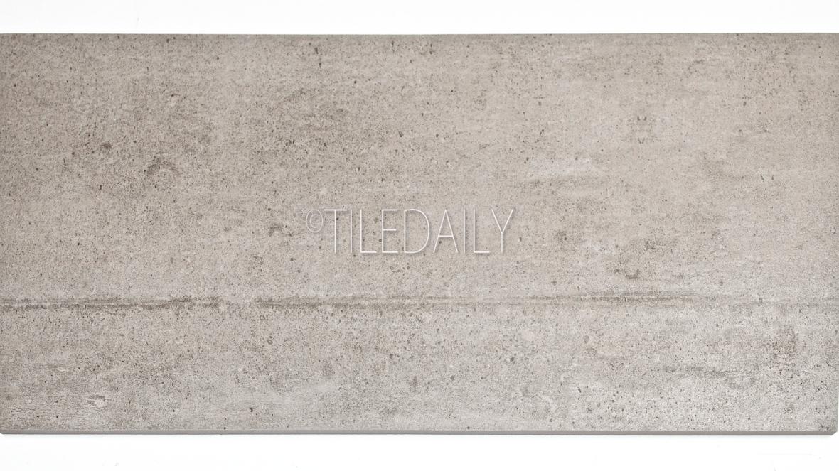 P0084LGY-2 - Series II Rustic Cement Porcelain Tile, Light Grey