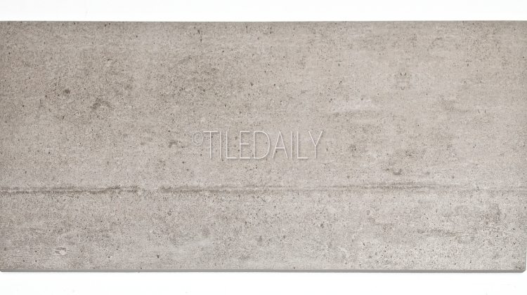 P0084LGY-2 - Series II Rustic Cement Porcelain Tile, Light Grey